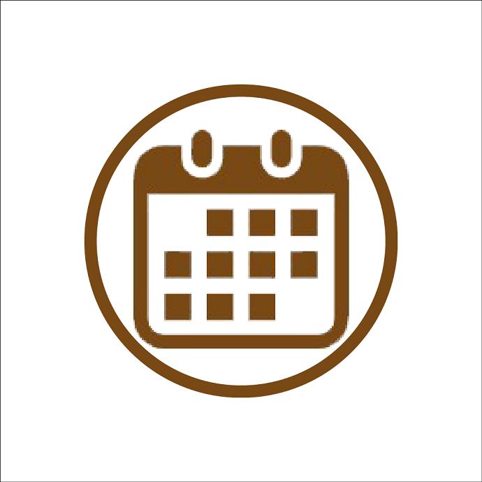カレンダーのアイコン素材スマホ